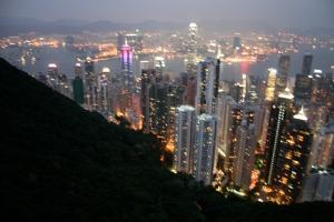 Living it Up, The Peak in Hong Kong